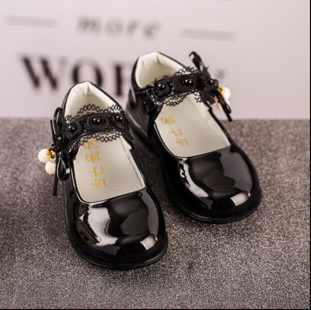 2017 spring and autumn new korean version of the princess shoes baby shoes children shoes soft bottom shoes girls big boy shoes