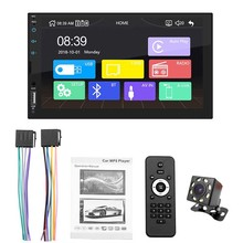 2 Din Apple Carplay Car Radio Bluetooth Android Auto Stereo Receiver 7 #8243 Touch Screen MP5 Player USB ISO Audio System Headunit X2 cheap PHYEE CN(Origin) Metal and plastic 1024*600 0 6kg Radio Tuner 178mm*102mm*65mm In-Dash english 45W*4 87 5-108 0 MHz Apple carplay functions