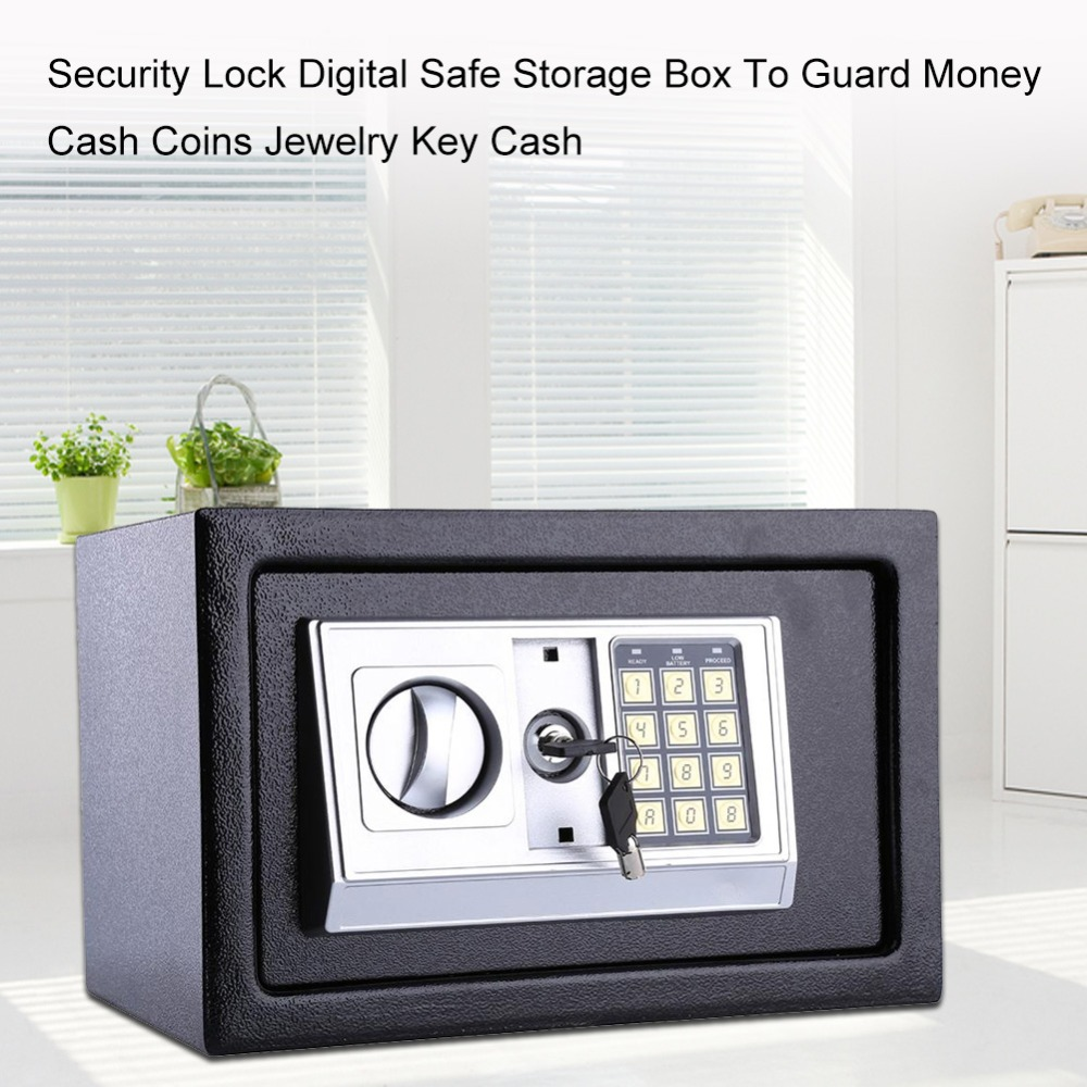 Prime Us 34 7 30 Off 16L Security Lock Digital Safe Storage Box To Guard Money Cash Coins Jewelry Key Cash In Safes From Security Protection On Wiring Cloud Usnesfoxcilixyz
