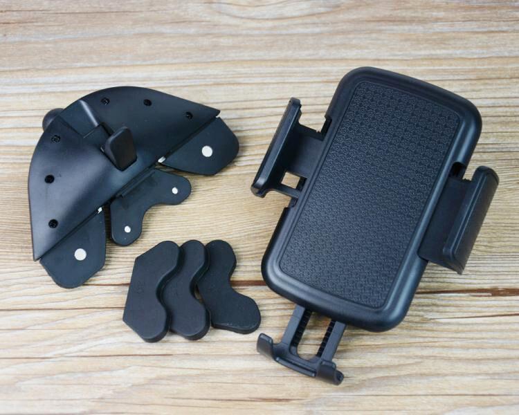 Портативный Поворотный Автомобиль CD слот Даш GPS Планшеты мобильный телефон крепление подставки, держатели для Alcatel Idol X + 6043D, поп-звезда LTE, вс…