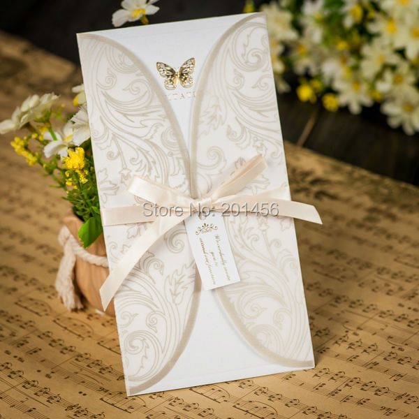 Customised Wedding Invitation Cards