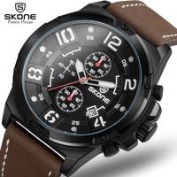 SKONE Brand Genuine Men S Quartz Watch 3D Surface Case Sports Watches Climbing Wristwatches Montre Homme