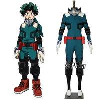 Anime My Hero Academia 3 Cosplay Costume Boku no Hero Akademia Izuku Midoriya Cosplay Suit For Customized Any Size