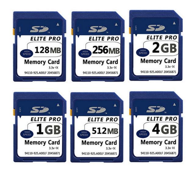 Original 128MB 256MB 512MB 1GB 2GB SD Card SD Memory Card Secure Digital Flash Memory Card