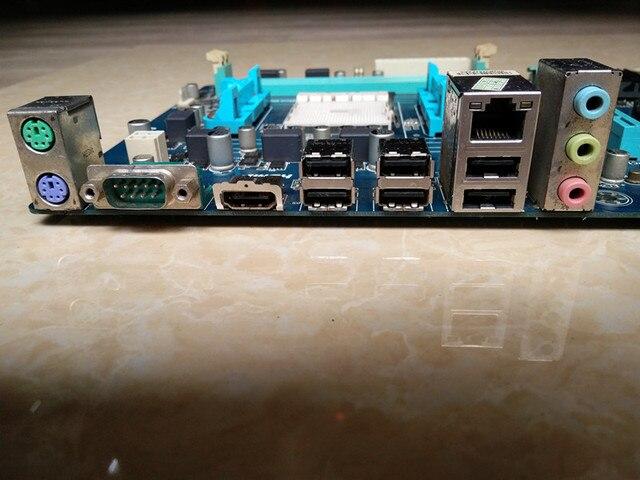 original Free shipping desktop motherboard GA-A55-S3P A55-S3P DDR3 Socket FM1 Gigabit Ethernet