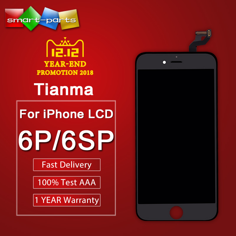 Premium Tianma LCD For iPhone 6 plus 6s plus lcd diaplay Screen Replacement with 3d force