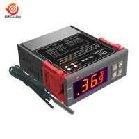 1Pcs LED Digital Temperature Controller STC-1000 110V 220V Thermoregulator thermostat for Fan Water heater freezer fridge