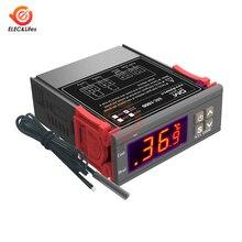Controlador de temperatura Digital LED STC-1000 STC 1000 12V 24V 220V 10A relé termostato termorregulador para calentador congelador nevera
