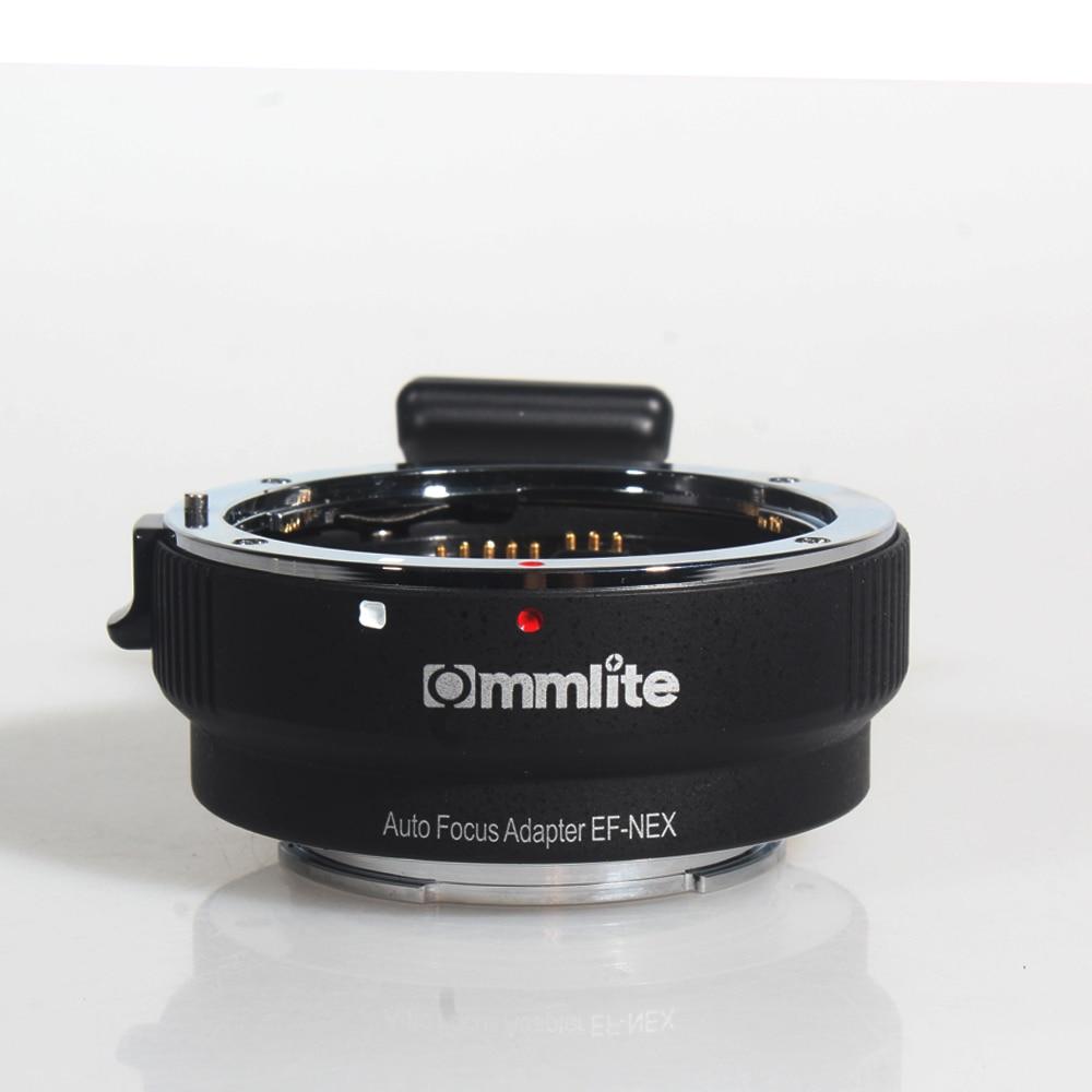 COMMLITE Автофокус Адаптер для крепления EF-NEX для Canon EF для Sony NEX Mount
