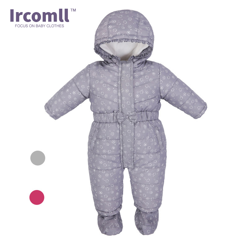 Ircomll 2017 NEW Baby Rompers Thick Warm Babies Jumpsuit Toddler Body suit Boys Girls Clothing Newborn Outwear winter girls baby boys sneakers first walker shoes small footwear for babies toddler lovely sports new year baby walker 70a1027