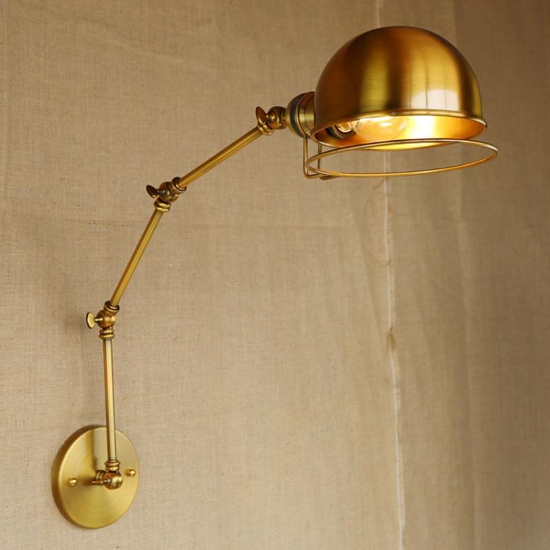 Vintage Led Wall Lamp American Loft Industrial wall light ...