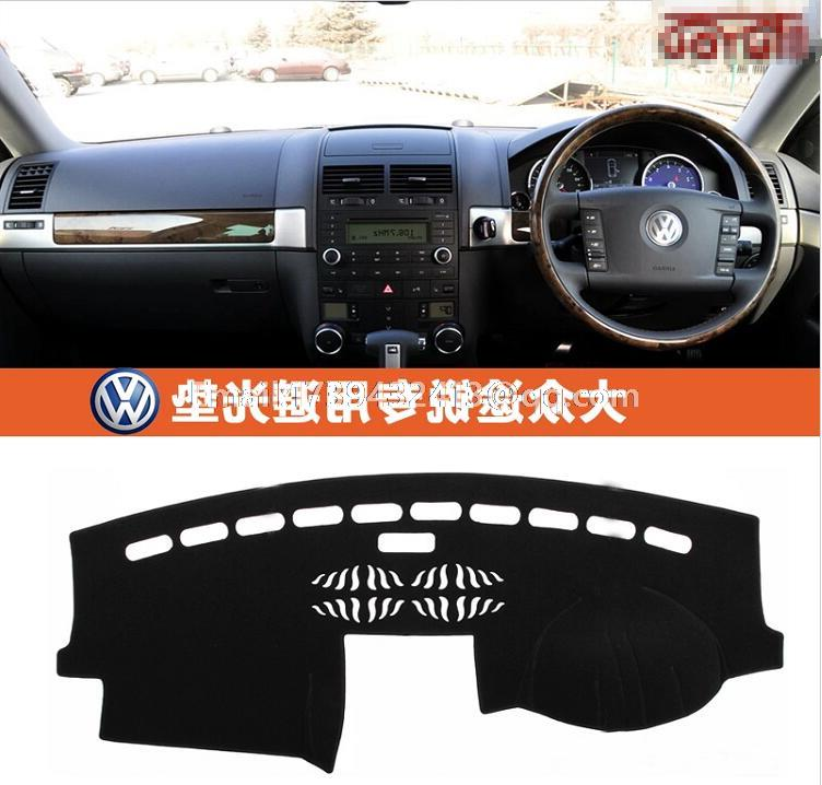 car dashmats car-styling accessories dashboard cover for VW Volkswagen Touareg 2002 2003 2004 2005 2006 2007 2008 2009 2010