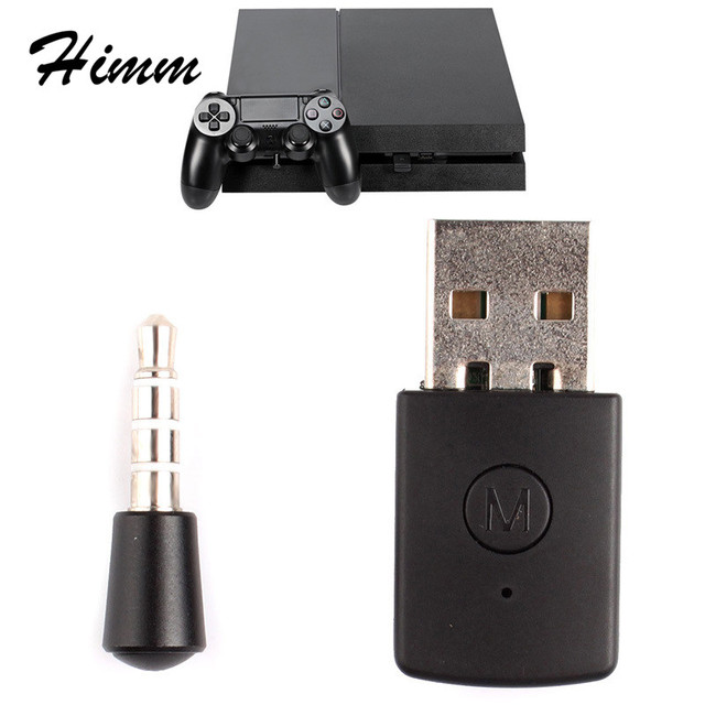 US $9 3 5% OFF|Bluetooth Receiver Adapter Bluetooth 4 0 A2DP Wireless  Dongle USB Adapter for PS4 Controller Gamepad / Xbox one /TV /PC Headse-in