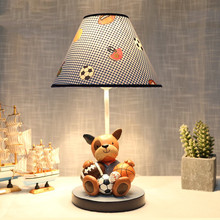 Resin Sports Puppy Desk Lamp Bedroom Lamp Childrenu0027s Room Creative Kid  Favorate Decor Dimmer Light Light