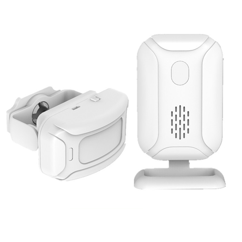Alarm Welcome IR Infrared Motion Sensor Doorbell Detection Distance Chime Radio Distance Reach 280 Meters Home Shop Door BellAlarm Welcome IR Infrared Motion Sensor Doorbell Detection Distance Chime Radio Distance Reach 280 Meters Home Shop Door Bell