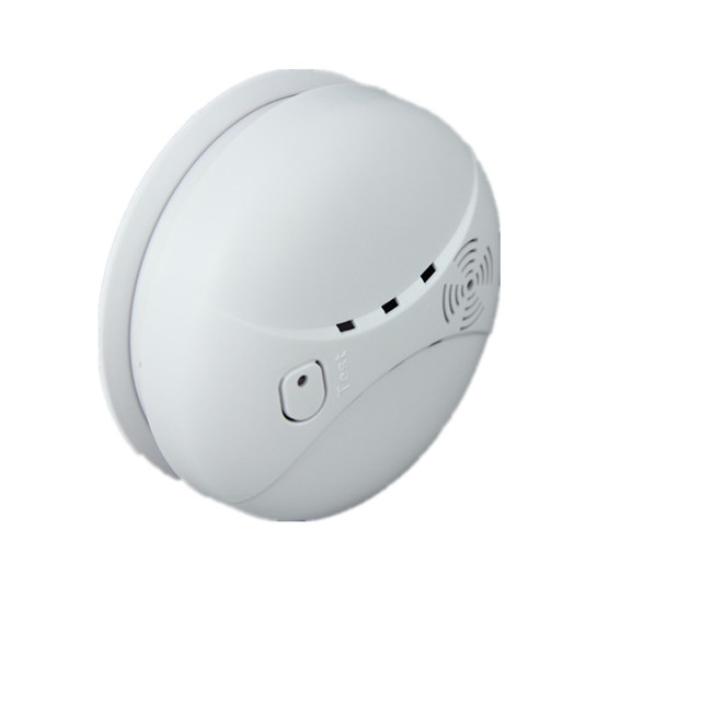 Portable Wireless Smoke Sensor for PSTN WIFI GSM alarm system Photoelectric Smoke Detector Fire Alarm with 9V battery Operated