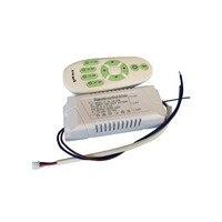 1X2.4G 18-28 W RF draadloze CCT passen constante spanning led driver + afstandsbediening gratis verzending