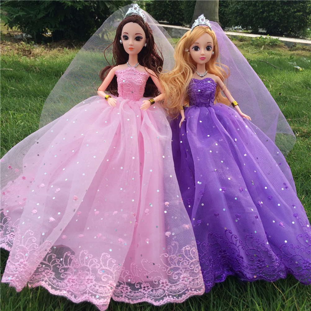 Atractivo Vestido De Novia De La Muñeca Barbie Ideas Ornamento ...
