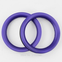 2Pcs Newest purple 12 inch 25mm Slide car scooter push bike matte full carbon fibre bicycle wheels clincher rims 12er Free ship