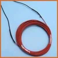 24K 14M 190W 50C Infrared Heating Floor Heating Cable System Ptfe Carbon Fiber Wire Electric Floor Hotline warm blanket felt