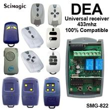 2 pcs DEA MIO TR2, TR4 Compatível Controle Remoto 433.92 mhz Rolling Code receptor Frete Grátis