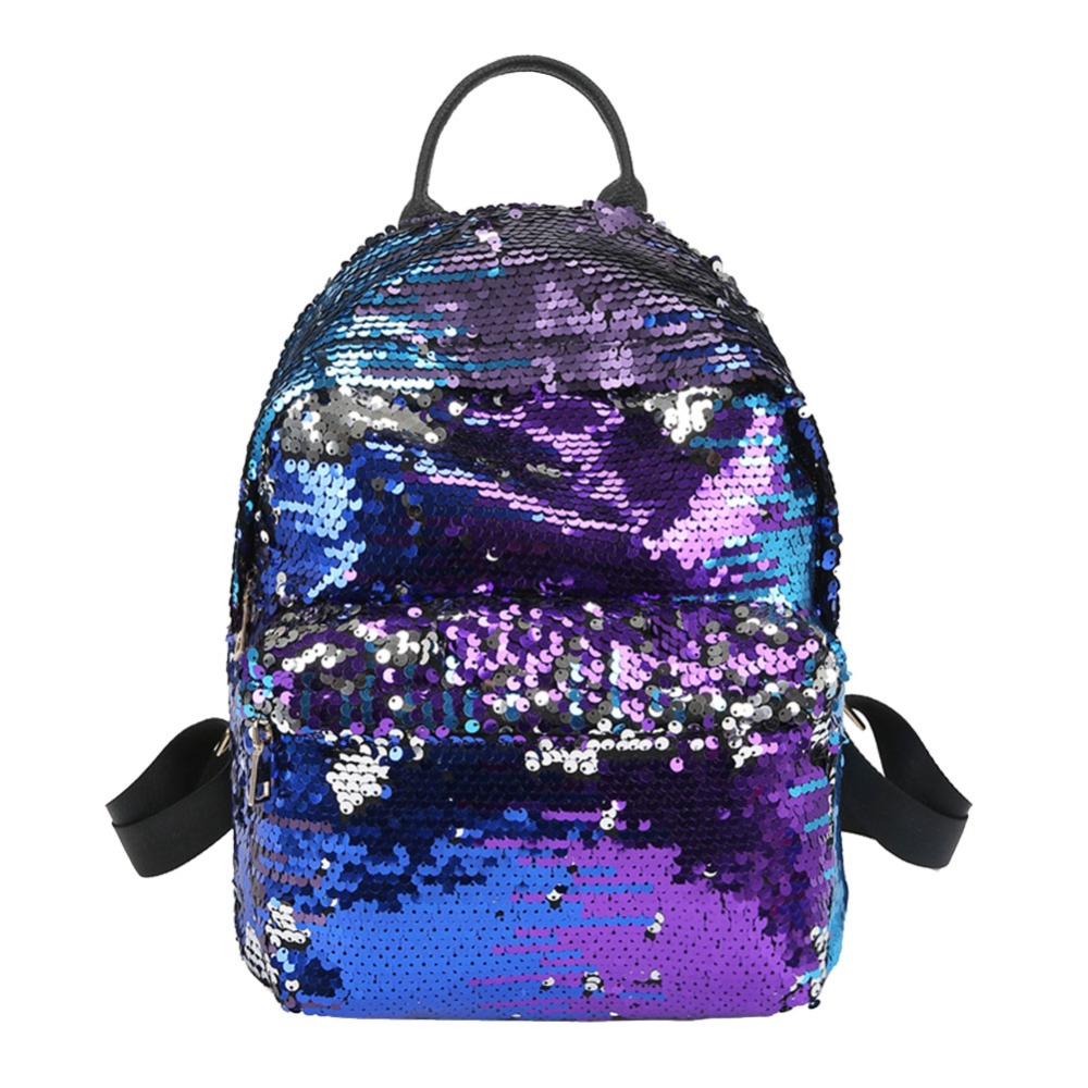 00d16f86d110 Purple Leather Mini Backpack- Fenix Toulouse Handball