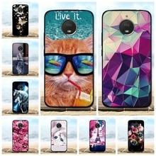 For Motorola Moto E4 Plus Case Silicon TPU Luxury 3D Cute Black Cover (4th Gen.) Europe version Phone Cases