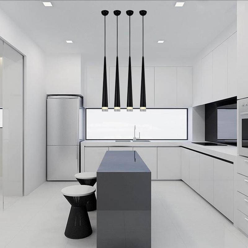lukloy pendiente moderna lmpara de luces de barra de bar cocina tubera tienda luces pendientes de