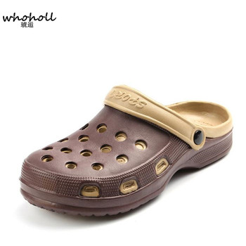 0b262588545 Wholl EVA zuecos sandalias de hombre Slip On Garden Shoes sandalias de playa  ligeras para hombres