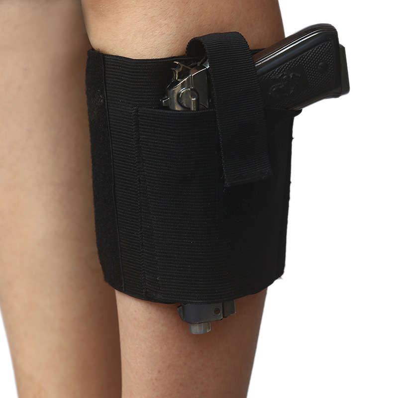 Concealed Carry Universal Pistol Ankle Holster Right Left Leg Strap Gun Outdoor Tactical Gear image