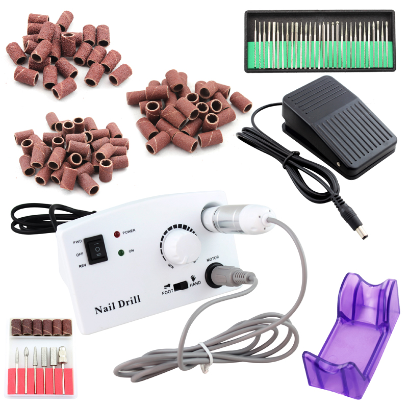 OPHIR 30000RPM Nail Drill Machine Kit Pedicure Manicure Nail Tools Drill Bits Sanding Bands Nail Art Kit #KD146WU+163+165-167OPHIR 30000RPM Nail Drill Machine Kit Pedicure Manicure Nail Tools Drill Bits Sanding Bands Nail Art Kit #KD146WU+163+165-167