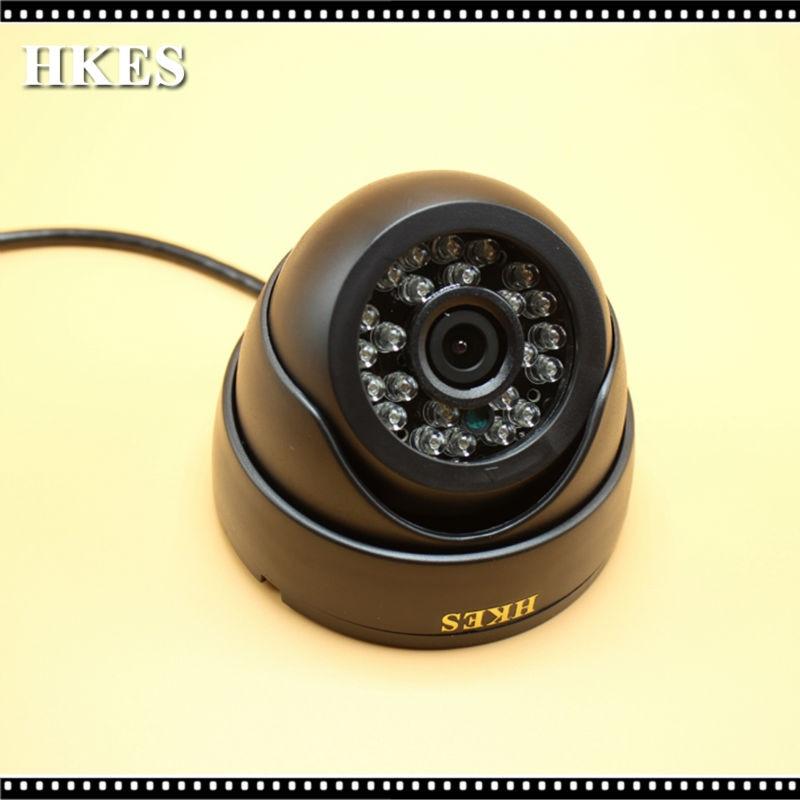 HKES Mini AHD Camera 720P CMOS Sensor 2000TVL IR-Cut Filter Indoor 1080P 3.6mm Lens Plastic CCTV Cam 2MP keeper unique deisgn cmos 1 2mp ir mini dome indoor plastic ahd cctv camera 36pcs ir leds 30m distance 3 6 6mm fixed lens