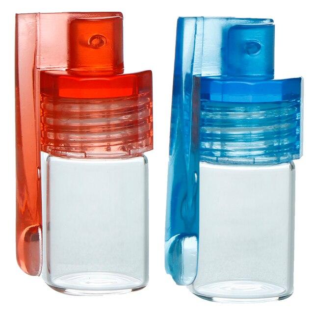 1 шт 31 мм/15 мм стеклянная бутылка снуд трубка Botella пуля ракета акриловый снуд. Цвет случайный