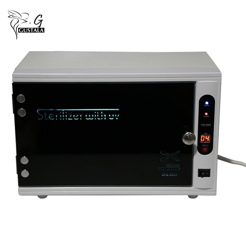 Gustala 220V Professional Sterilizer Nail Tools UV Nail Disinfection Cabinet Manicure Tools Nail Electric Equipment Therapy цена