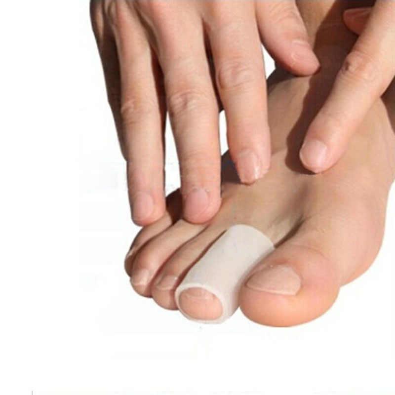 1Pair = 2Pcs Gel di Silicone Borsite Toe Finger Protector Solette Tubo Punta Del Piede Calli Remover Vesciche Gel per il Corpo massaggiatore Salute E Bellezza