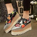 Hot Sales High Quality Fashion Shoes Mid-Heel 7 CM Platform 5 CM Casual Shoes Elegant Comfort Leisure Woman Girl Shoes  ML2985
