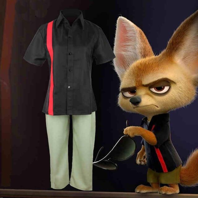Aliexpress Com Buy Cos Zootopia Finnick Cosplay Costume