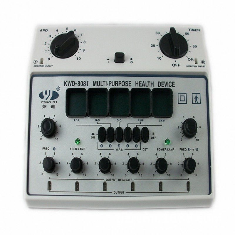 KWD-808I 6 Channels Tens UNIT. Multi-Purpose Acupuncture Stimulator Health Massage Device Electrical nerve muscle stimulator  цены
