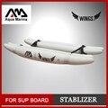 Gonfiabile stablizer stand up paddle consiglio sup surf consiglio accessori nuovo giocatore del capretto bordo ALI ISUP formazione set di ruote B03022