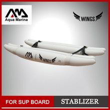 inflatable stablizer stand up paddle board sup surfing board accessory new player kid board WINGS ISUP training wheel set B03022(China)