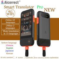 AIcorrect переводчик Pro многоязычный автономный фото перевод Ai голосовой переводчик туристический обучающий двухсторонний переводчик