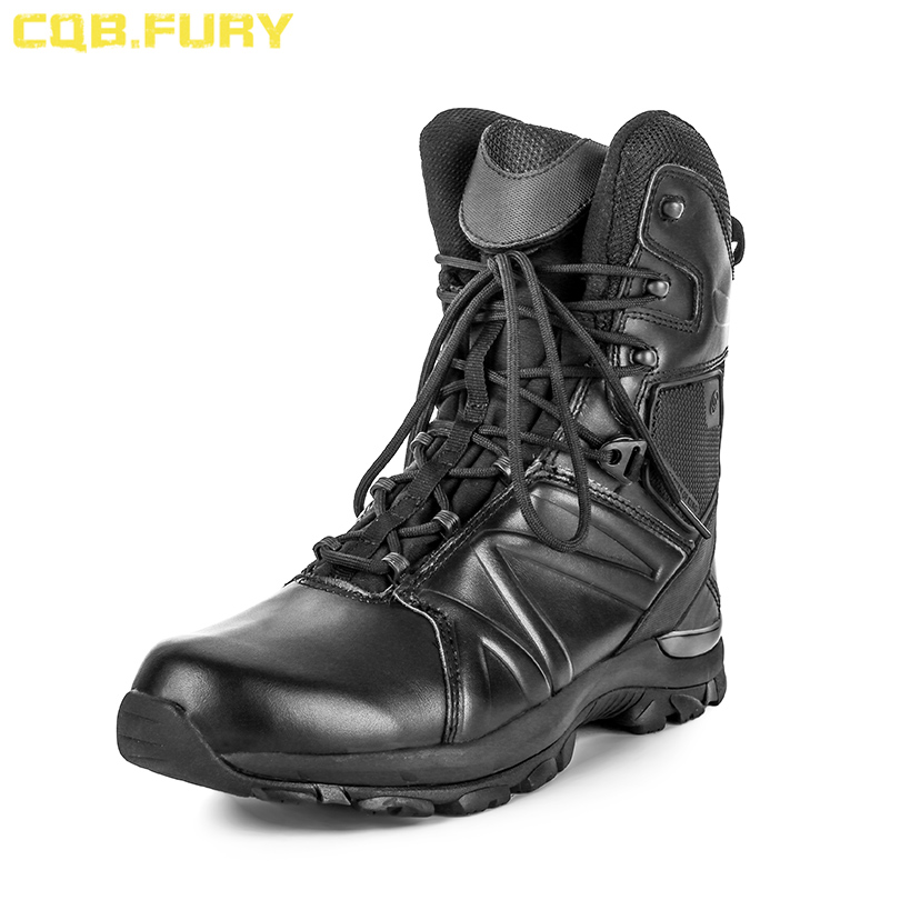 021ddd3881d Military Tactical Mens Boots Special Force Leather Waterproof Desert ...