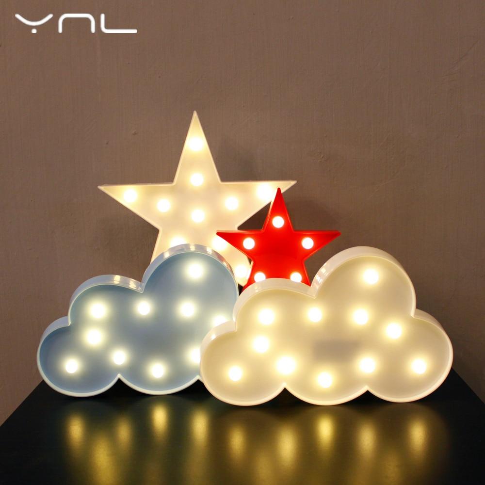 Noel dekor 3D LED Gece Lambası ağacı Flamingo Kaktüs Melek - Gece Lambası - Fotoğraf 6