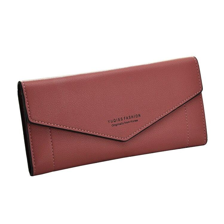 все цены на  Women Wallets Soft PU Leather Lady Purses Handbags Woman Hasp Clutch Coin Purse Pocket Cards ID Holder Long Wallet Money Bags  онлайн
