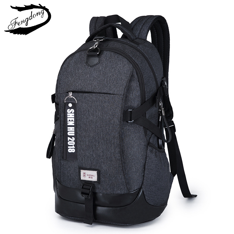 все цены на Casual Schoolbag Large Capacity USB Backpack Men Business anti theft Travel Bag Waterproof laptop backpack Male Mochila Bagpack