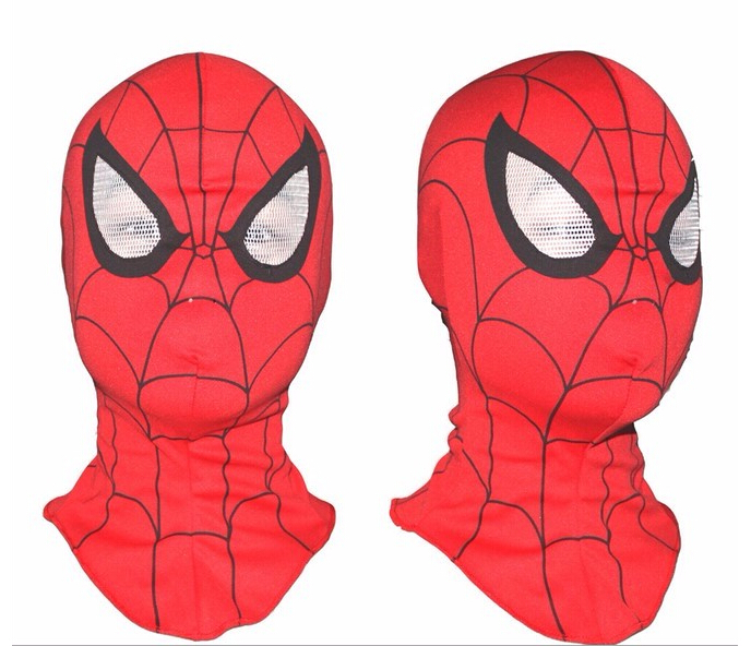 wholesale 2pcs/lot Cosplay children and <font><b>adult</b></font> <font><b>Spiderman</b></font> mask /Spider-Man <font><b>Gloves</b></font> Cosplay Halloween Party Supplies Free shipping