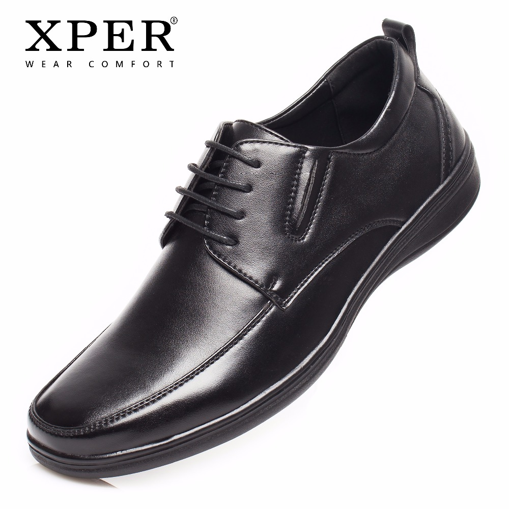 2018 XPER Brand 40~45 Big Size Men Shoes Fashion Men Casual Shoes Spring Autumn Breathable Flats Lace-up Walking Shoes #XAF86279 2016 top men flats casual shoes men oxford classic lace up style big size 46 autumn spring solid color black brown