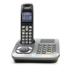 Dect 6.0 Цифровой Беспроводной Телефон С Автоответчиком Handfree Голосовой Почты С Подсветкой ЖК Фиксированной Телефон Для Офиса Бизнес Дома
