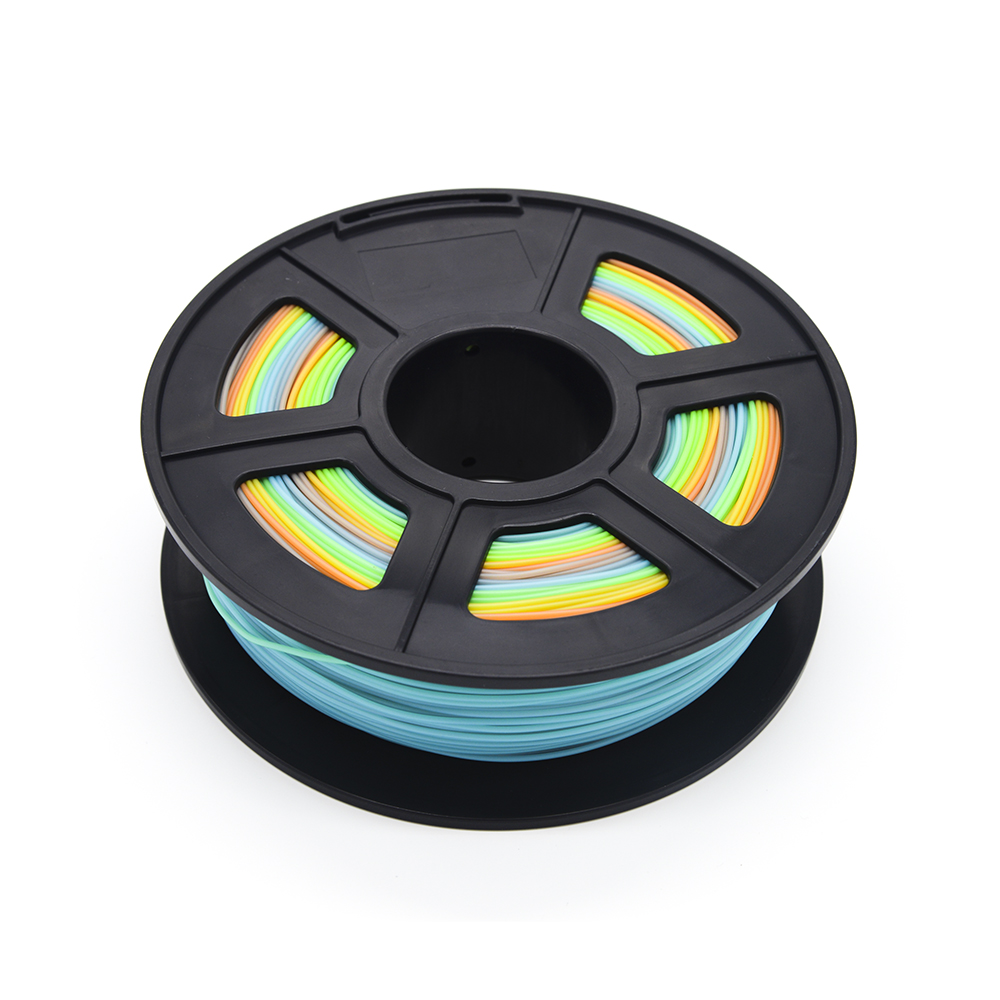 Filamento plástico do pla das multi cores
