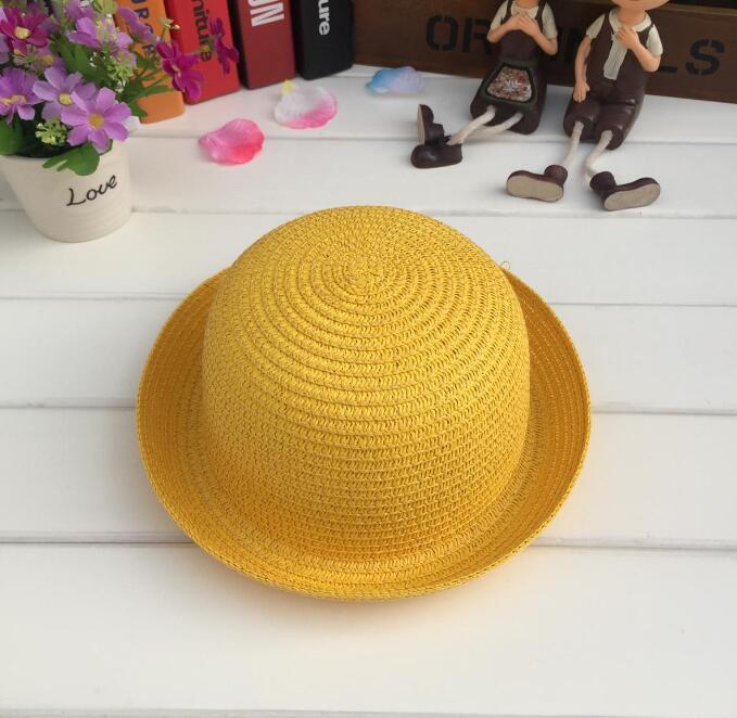 baby summer cotton cap cute beach hat Dropshipping